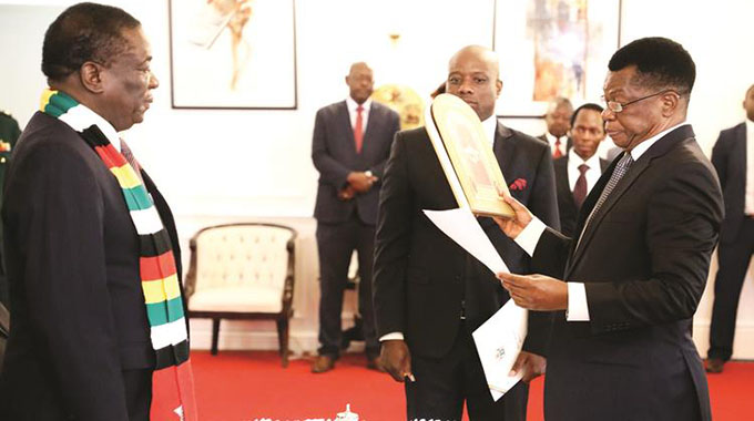 ED swears in new Prosecutor-General