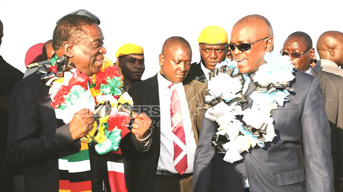 ED, Masisi get down to business