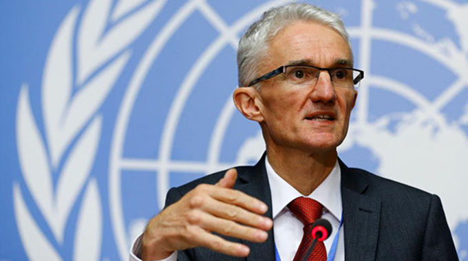UN humanitarian chief arrives today