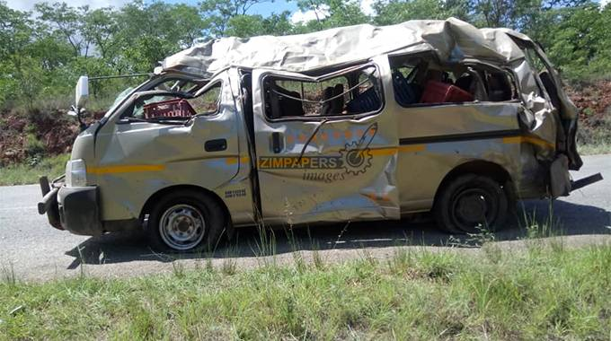 BREAKING: Four die in kombi accident