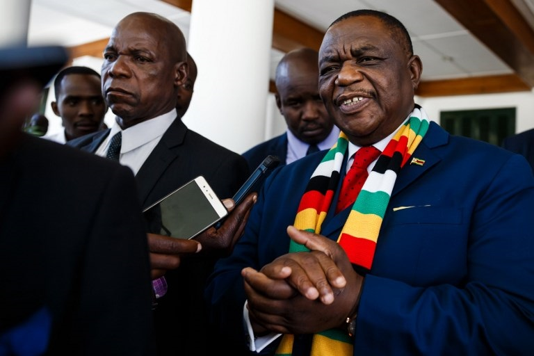 Zimbabwe vice-president Constantino Guveya Chiwenga.