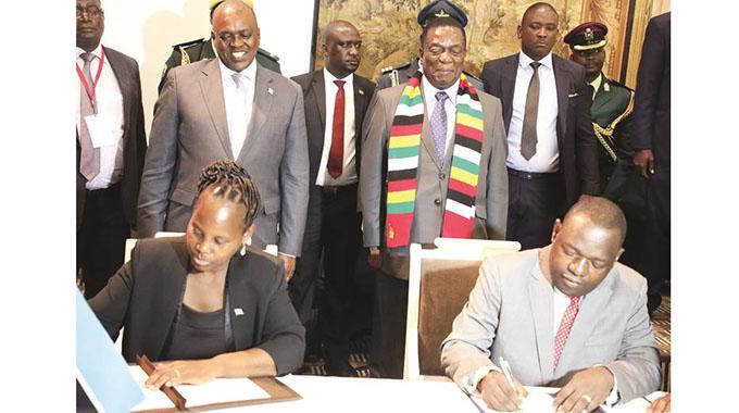 Masisi signs off 1bn pula facility