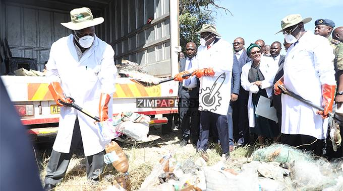 JUST IN: President Mnangagwa exhorts Zimbabweans on environmental issues