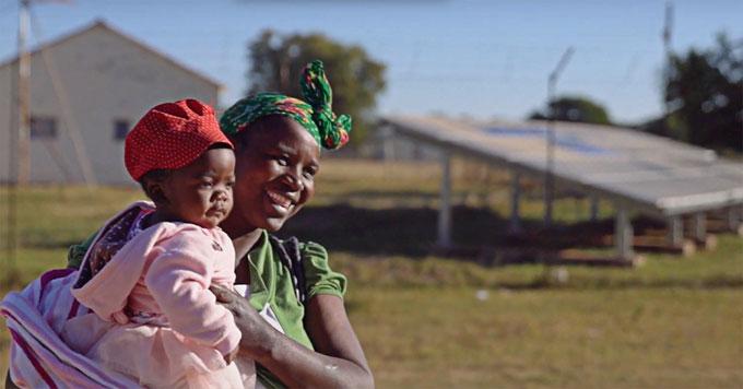 Zimbabwe solar clinic