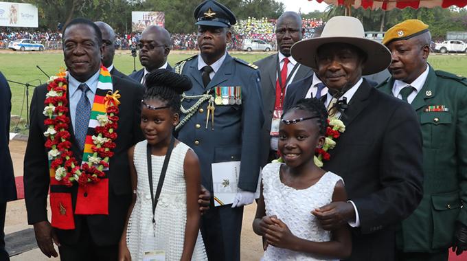 Ugandan leader calls for deeper ties with Zim