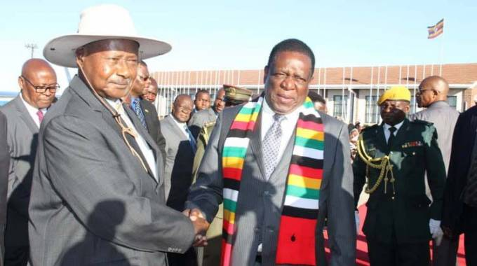 Museveni savours Zim hospitality