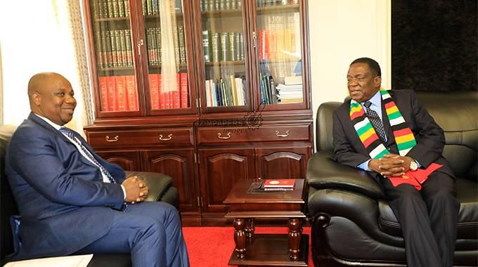 JUST IN: Burundi envoy pays courtesy call on ED