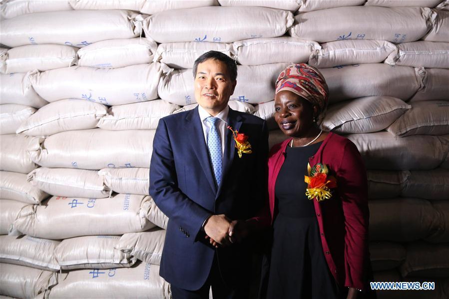 ZIMBABWE-HARARE-CHINA-RICE DONATION
