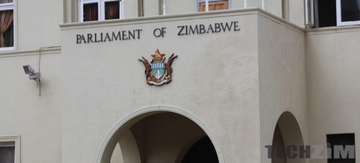 Parliament of Zimbabwe building.
