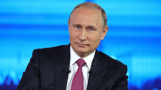 Putin happy with friendly Zim relations