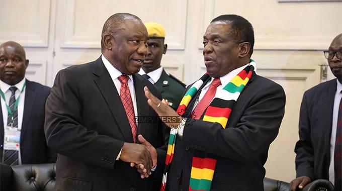 ED in SA for Ramaphosa inauguration