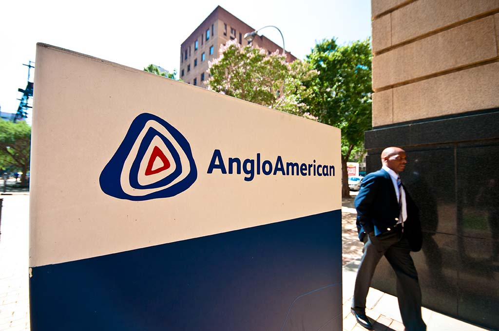 File: Anglo American opened a custom-designed smelter in Zimbabwe.