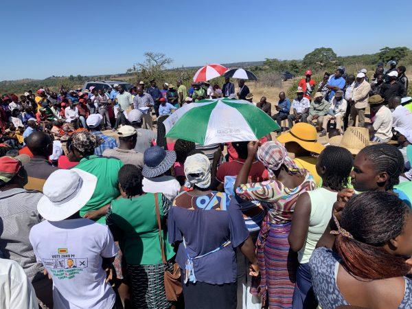 Zimbabwe villagers