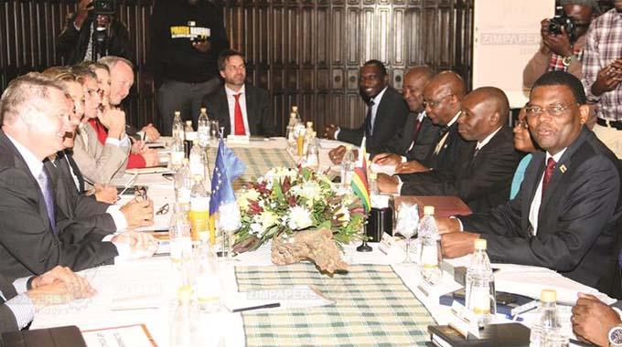 EU, Zim dialogue will unlock capital: Analysts