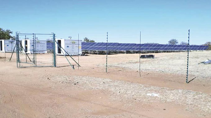 Solar boon for Gwanda farmers