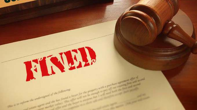 Smuggling trucker fined $3 000