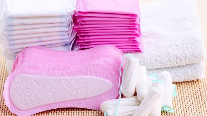 Sanitary wear now exempt from duty