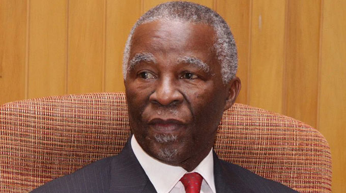 Mbeki speaks on Zim dialogue