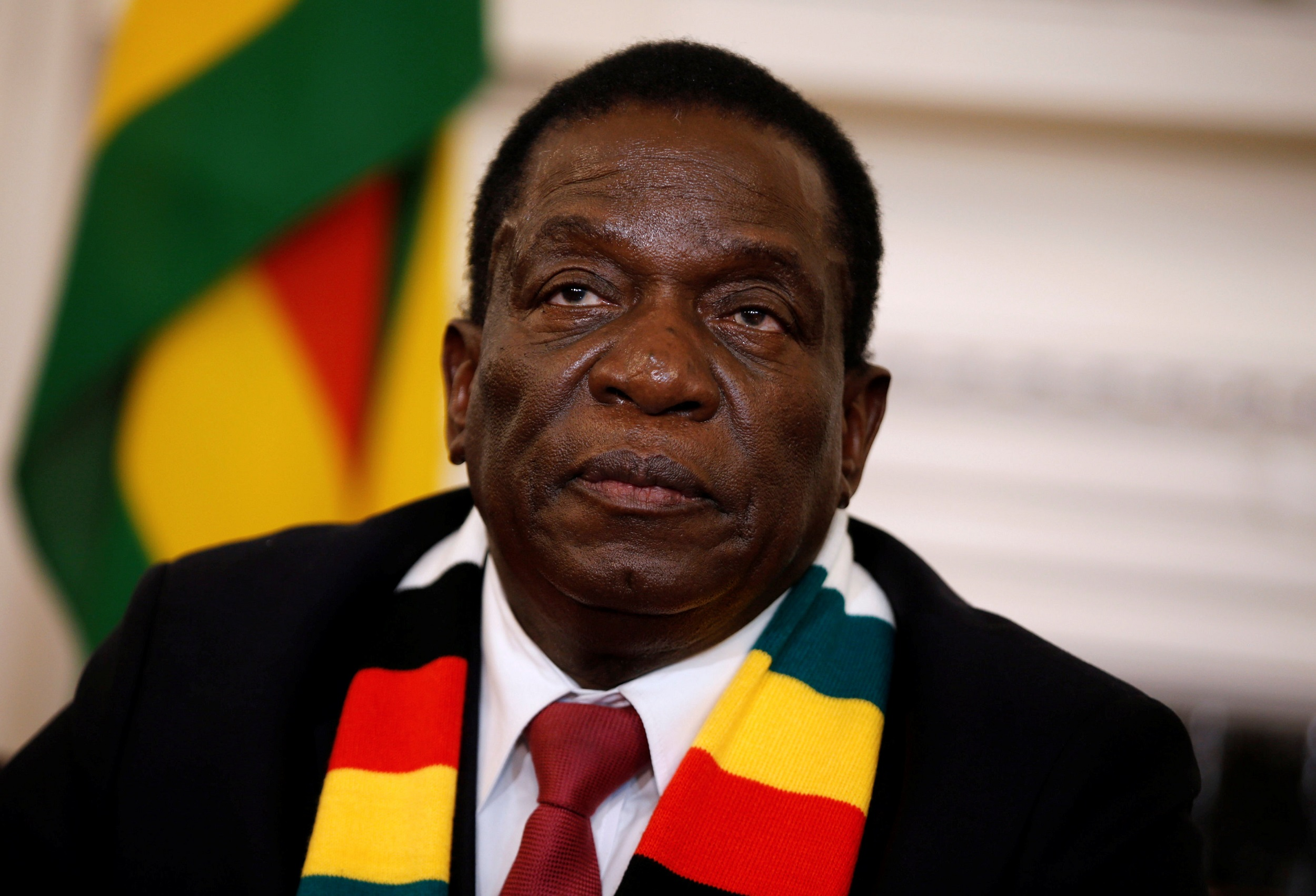 File: Zimbabwe President Emmerson Mnangagwasaid the price hikes were unjustified.