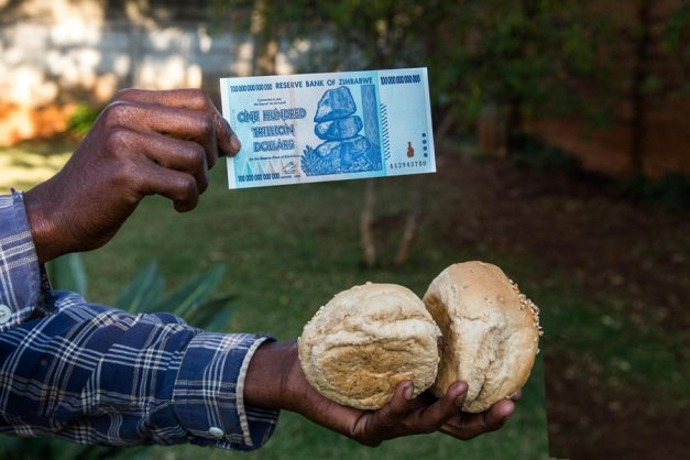 lthough described as a 'knee-jerk' policy introduced in 'the dead of night', the exchange rate improvement of 11 Zim dollars to one US dollar this week (from 14 earlier this month) is perhaps an early sign that the measures are working. Image: Twitter/@hallaboutafrica