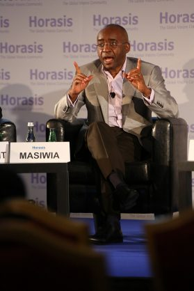 By Richter Frank-Jurgen - Strive Masiwia, Chairman, Econet Wireless, South Africa, making a point on globalization, CC BY-SA 2.0, https://commons.wikimedia.org/w/index.php?curid=60957476