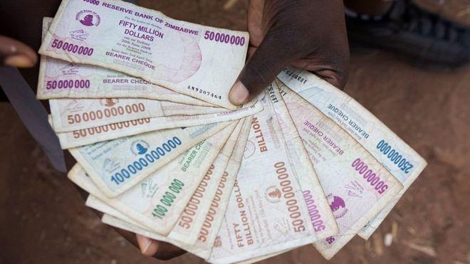 Zimbabwe's old currency
