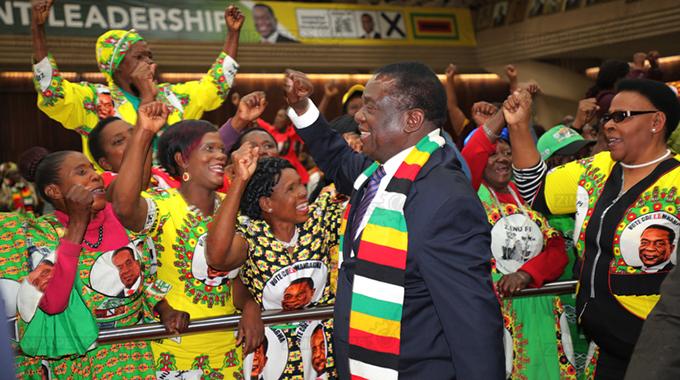 ED speaks on VP Chiwenga's health