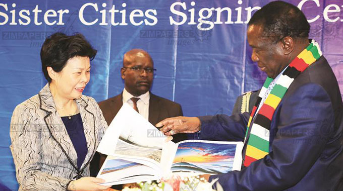 China, Zim tourism hubs on the cards