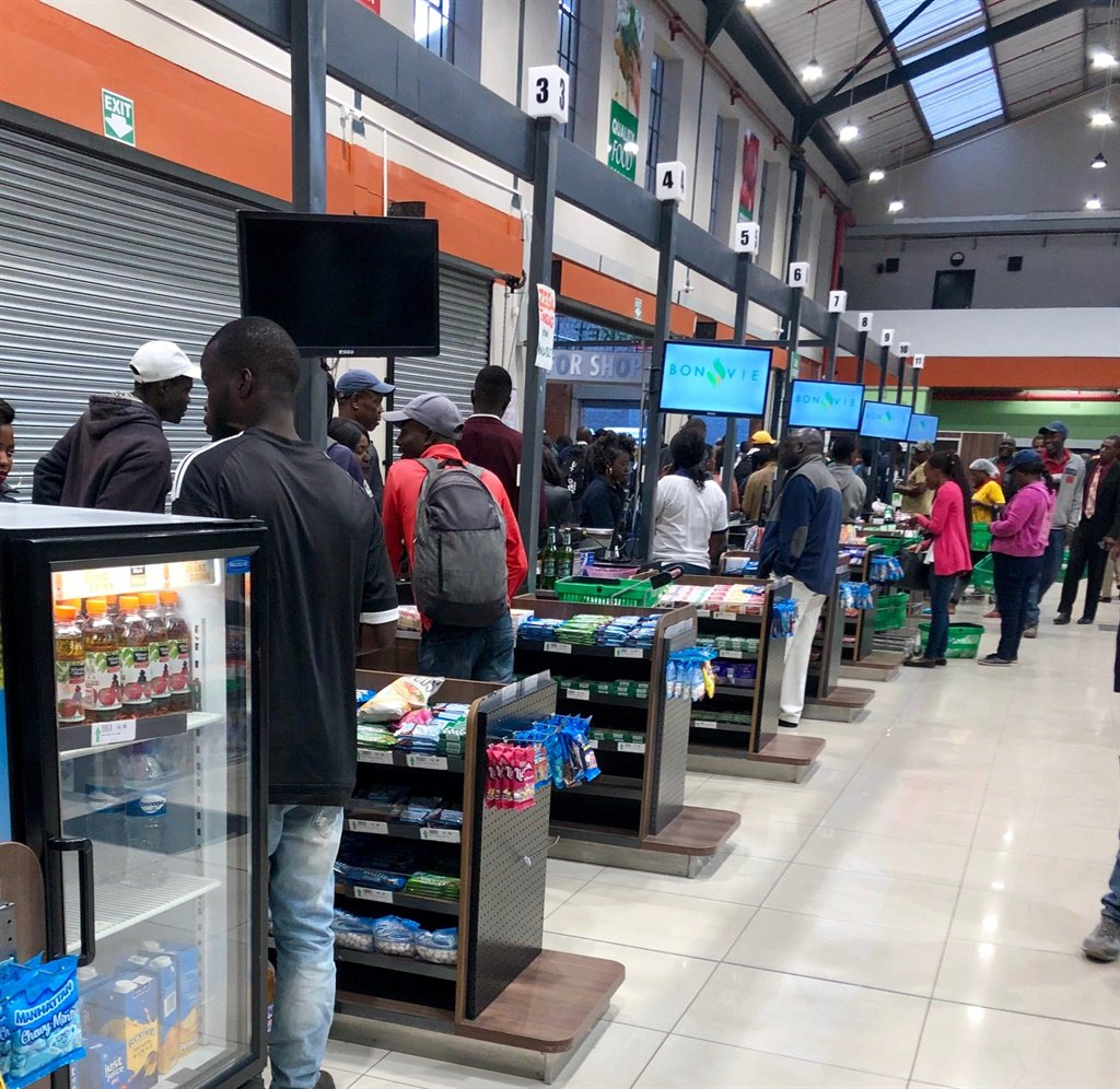 A grocery store in Harare, Zimbabwe (Lindiwe Mpofu