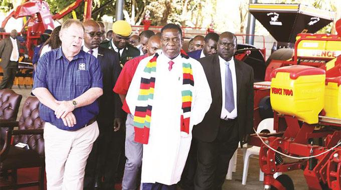 Embrace agric technologies, President tells farmers