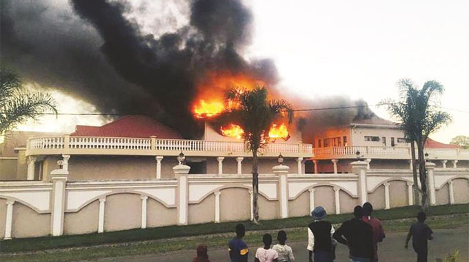 Fire guts Magaya hotel