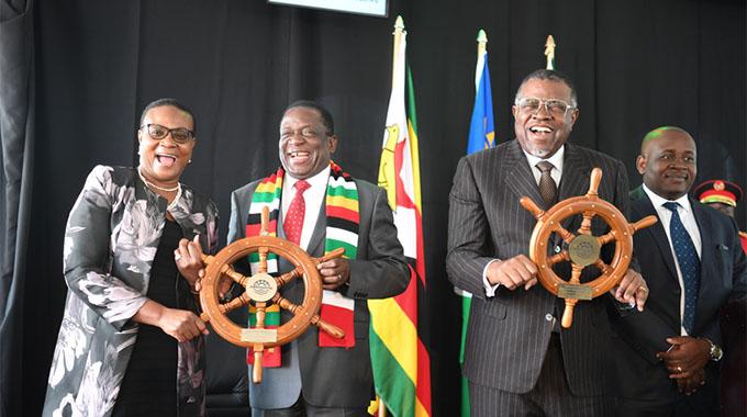 President opens Dry Port