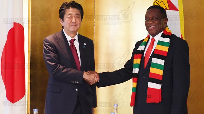 President meets PM, Emperor