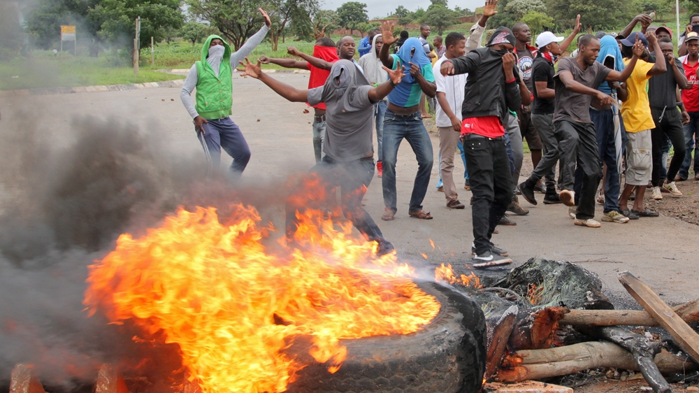 Zimbabwe protest