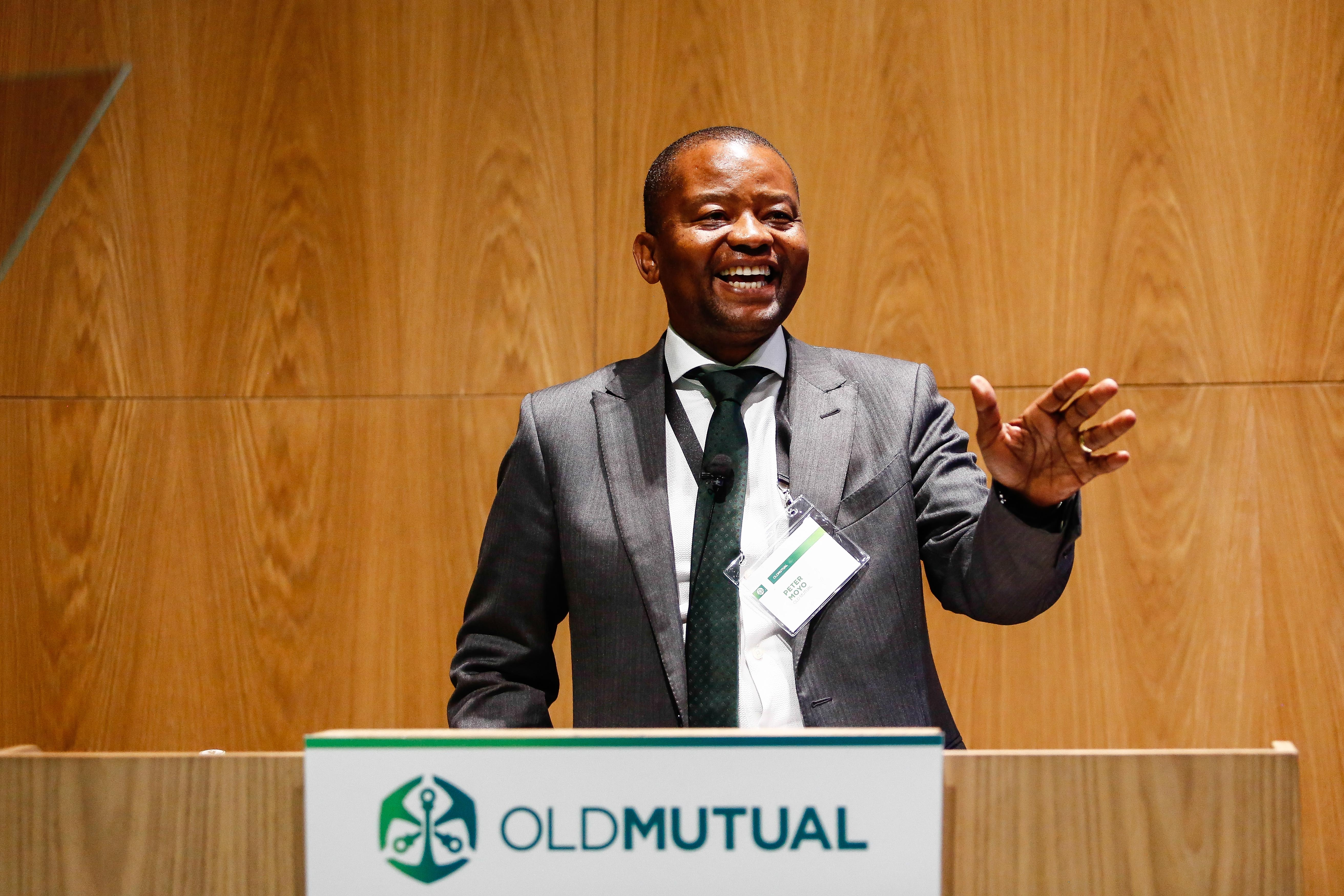File: Peter Moyo was suspended in May and later fired as CEO of Old Mutual
