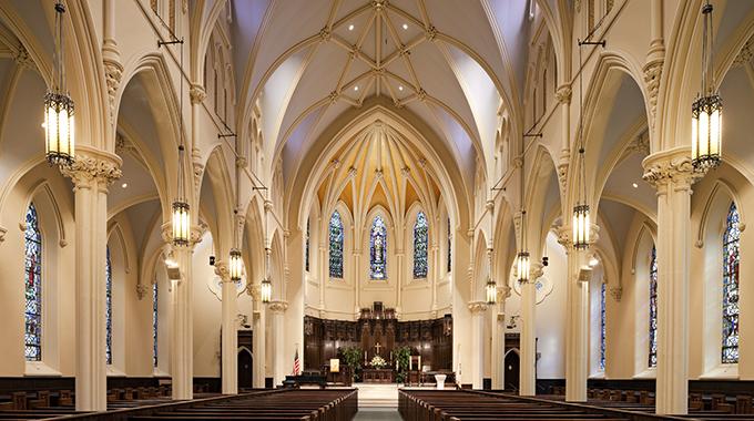 Churches denounce violence