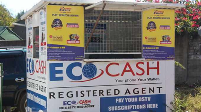 EcoCash agents make a killing . . . demand for bond notes, coins soars