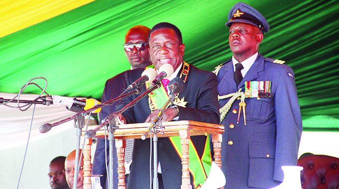 President honours ZDF for Idai efforts