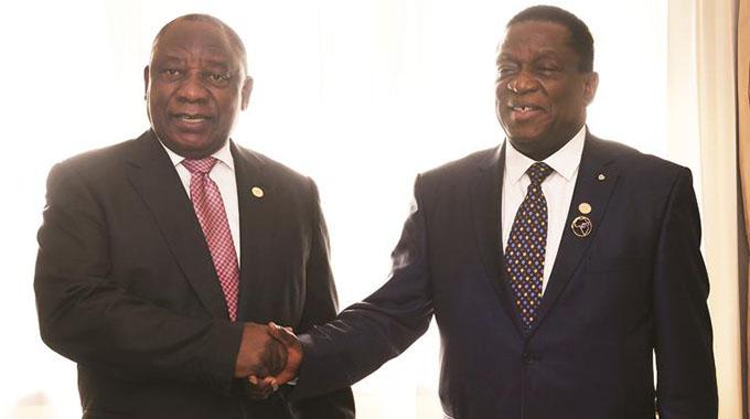 ED, Ramaphosa discuss 'successes, challenges'