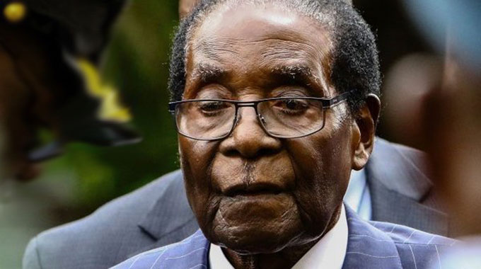 Mugabe recovering