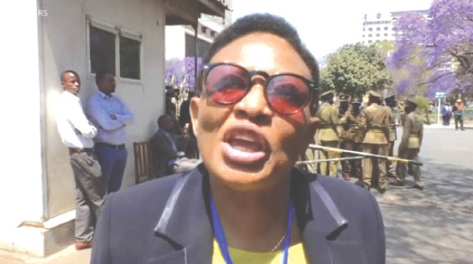 MDC A top official Thabitha Khumalo arrested