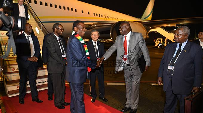 JUST IN: President arrives in Japan for TICAD summit