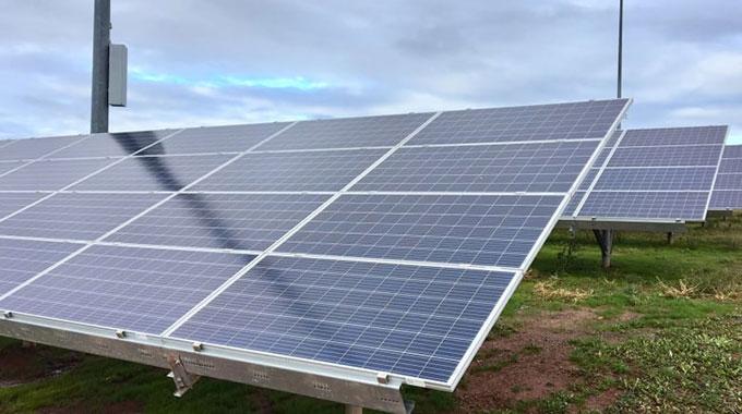 Solar energy plant for Bulawayo