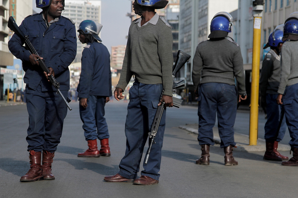 File: On Monday, authoritiessent soldiers in trucks into the centre of the city, bolstering police who patrolled on foot and lorries.