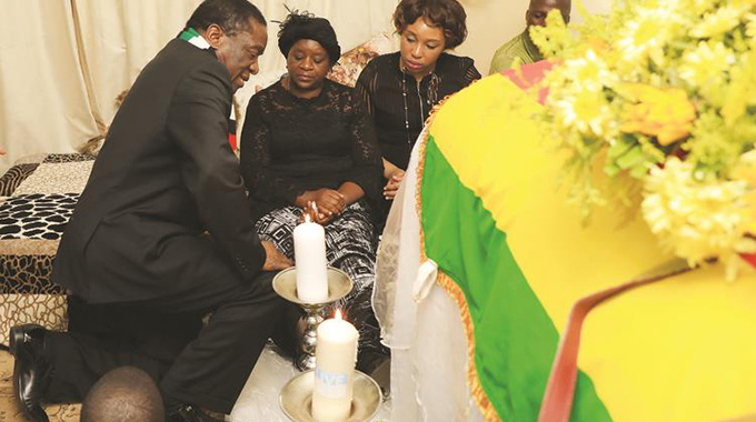 President pays tribute to hero Mugoba
