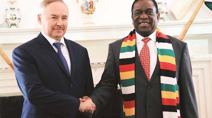 ED, Belarus envoy hold crucial talks