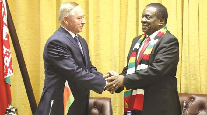 Zim, Belarus sign US$350m deals