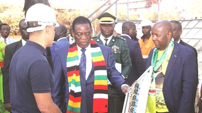 President appreciates new gold processing plant tech