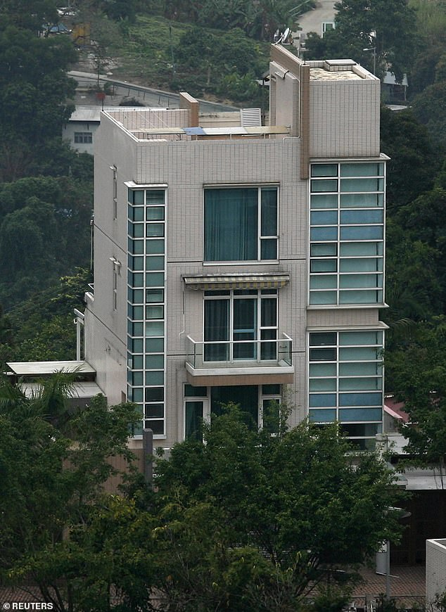 The Mugabes bought a £4million villa (pictured) in Hong Kong in 2008, just as his reign appeared under threat in a controversial election