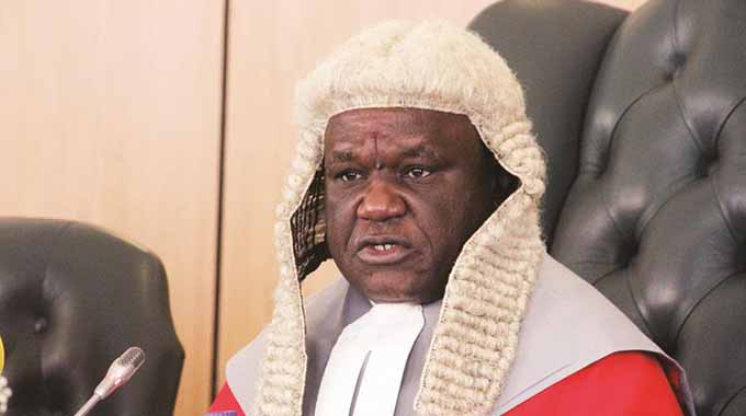 Chief Justice speaks on rule of law